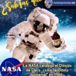LA NASA DECLARA EL DIÓXIDO DE CLORO COMO ANTÍDOTO UNIVERSAL EL AÑO 1988