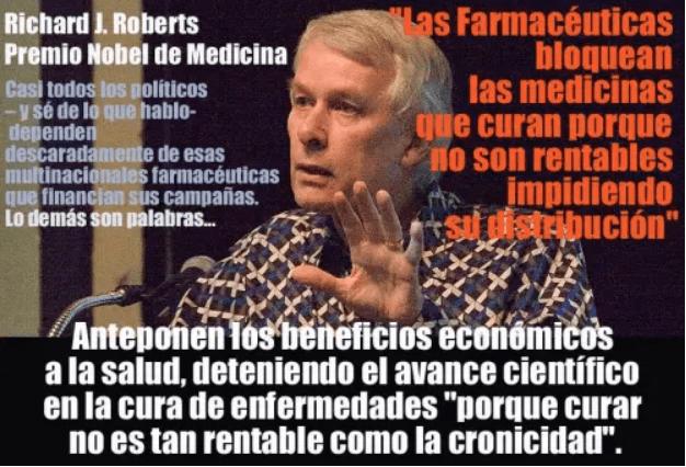 RICHARD J ROBERTS NOBEL DE MEDICINA